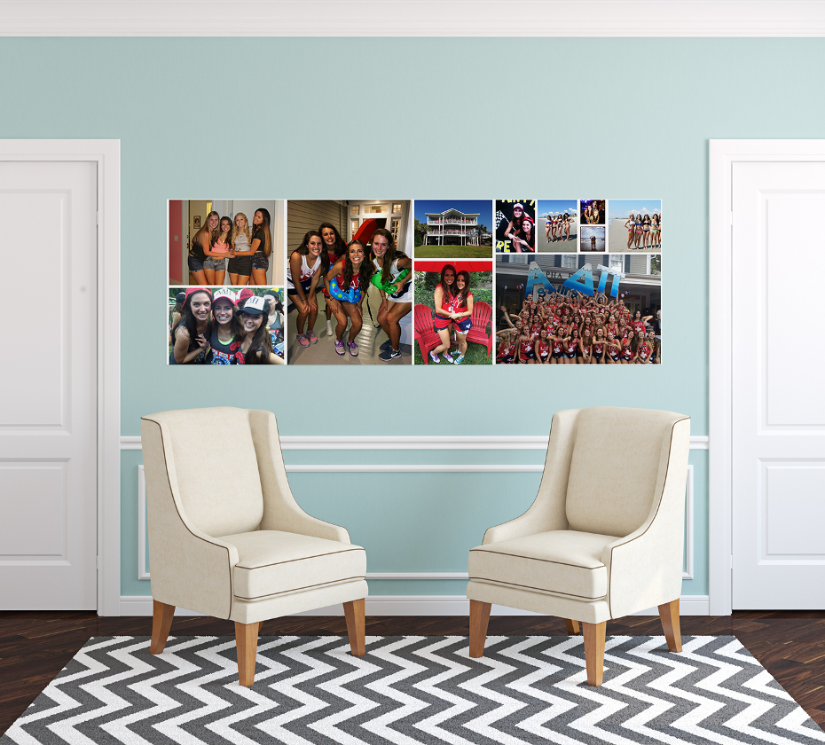 Custom photo wall stickers decals and removable photo wallpaper wemontage - Wallpaper in home wall ...