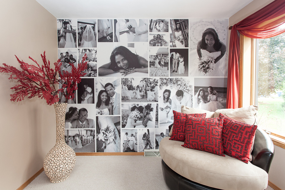 Custom Photo Wall Stickers, Decals And Removable Photo Wallpaper | WeMontage